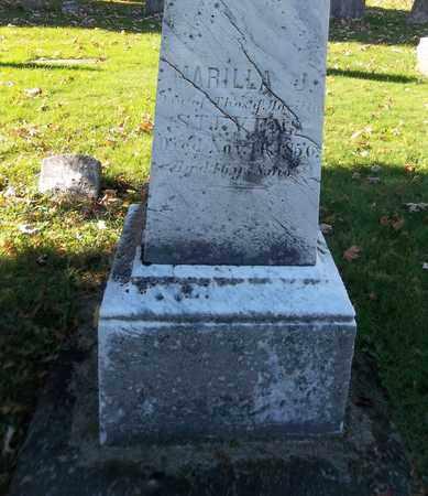 STEVENS, MARILLA J. - Trumbull County, Ohio   MARILLA J. STEVENS - Ohio Gravestone Photos