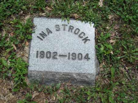 STROCK, INA - Trumbull County, Ohio   INA STROCK - Ohio Gravestone Photos
