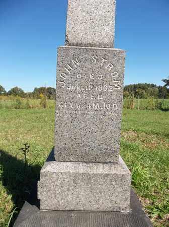 STROM, JOHN - Trumbull County, Ohio | JOHN STROM - Ohio Gravestone Photos