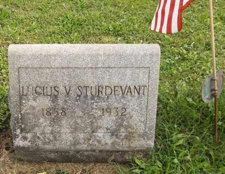 STURDEVANT, LUCIUS V. - Trumbull County, Ohio   LUCIUS V. STURDEVANT - Ohio Gravestone Photos