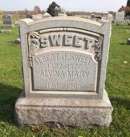 SWEET, ALBERT J. - Trumbull County, Ohio   ALBERT J. SWEET - Ohio Gravestone Photos