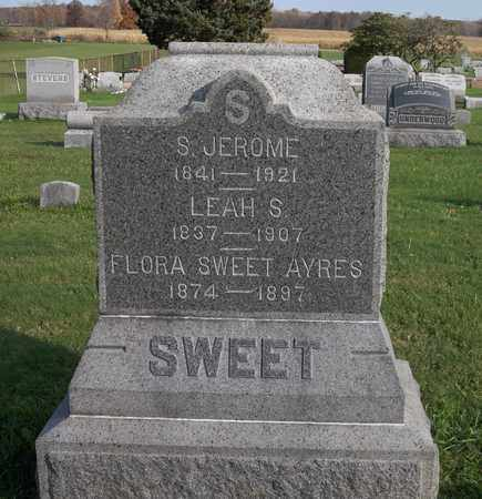 SWEET AYRES, FLORA - Trumbull County, Ohio | FLORA SWEET AYRES - Ohio Gravestone Photos