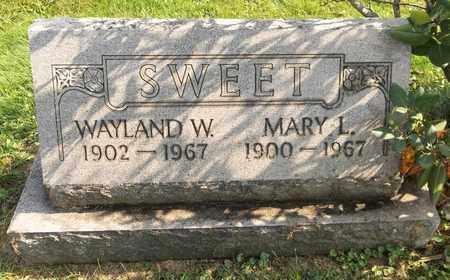 SWEET, WAYLAND W. - Trumbull County, Ohio | WAYLAND W. SWEET - Ohio Gravestone Photos