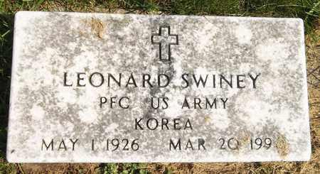 SWINEY, LEONARD - Trumbull County, Ohio | LEONARD SWINEY - Ohio Gravestone Photos