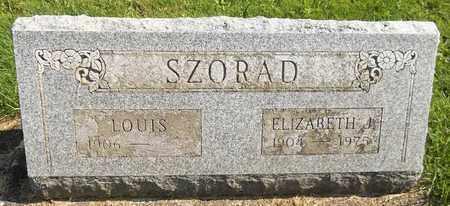 SZORAD, ELIZABETH J. - Trumbull County, Ohio | ELIZABETH J. SZORAD - Ohio Gravestone Photos