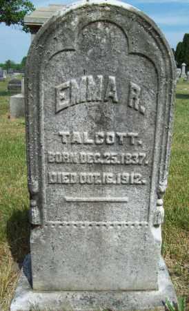 TALCOTT, EMMA R. - Trumbull County, Ohio | EMMA R. TALCOTT - Ohio Gravestone Photos