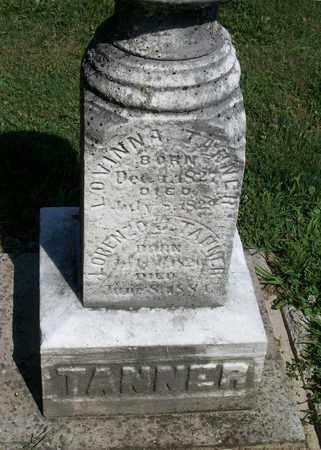 TANNER, LOVINNA - Trumbull County, Ohio | LOVINNA TANNER - Ohio Gravestone Photos