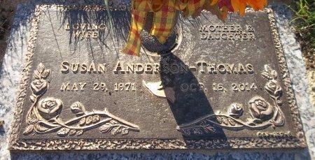 ANDERSON THOMAS, SUSAN - Trumbull County, Ohio   SUSAN ANDERSON THOMAS - Ohio Gravestone Photos