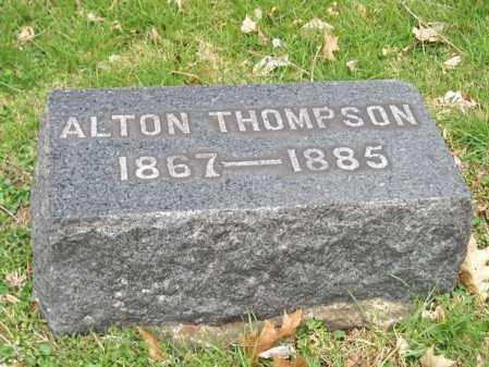 THOMPSON, ALTON - Trumbull County, Ohio | ALTON THOMPSON - Ohio Gravestone Photos