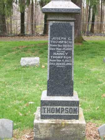 THOMPSON, NANCY - Trumbull County, Ohio   NANCY THOMPSON - Ohio Gravestone Photos