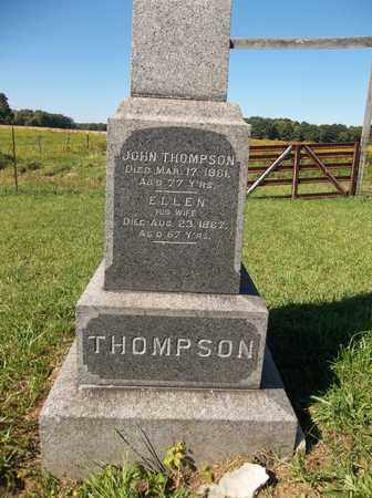 THOMPSON, ELLEN - Trumbull County, Ohio | ELLEN THOMPSON - Ohio Gravestone Photos