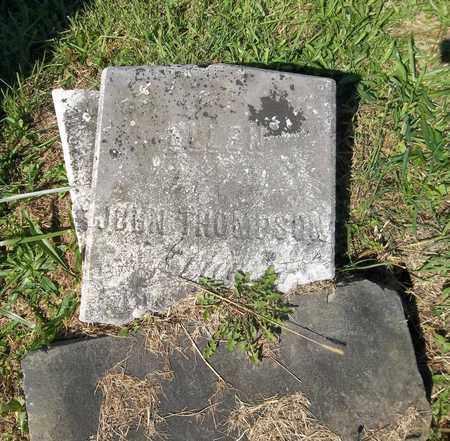 THOMPSON, JOHN - Trumbull County, Ohio | JOHN THOMPSON - Ohio Gravestone Photos
