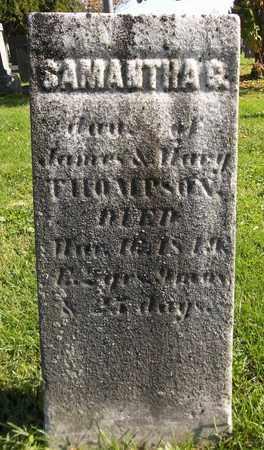 THOMPSON, SAMANTHA G. - Trumbull County, Ohio | SAMANTHA G. THOMPSON - Ohio Gravestone Photos