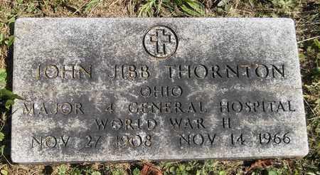 THORNTON, JOHN JIBB - Trumbull County, Ohio   JOHN JIBB THORNTON - Ohio Gravestone Photos