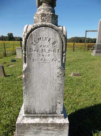 THORP, ELMINA B. - Trumbull County, Ohio   ELMINA B. THORP - Ohio Gravestone Photos
