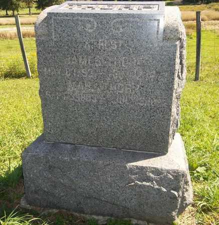 THORP, MARY - Trumbull County, Ohio | MARY THORP - Ohio Gravestone Photos
