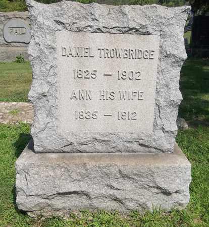 TROWBRIDGE, ANN - Trumbull County, Ohio   ANN TROWBRIDGE - Ohio Gravestone Photos