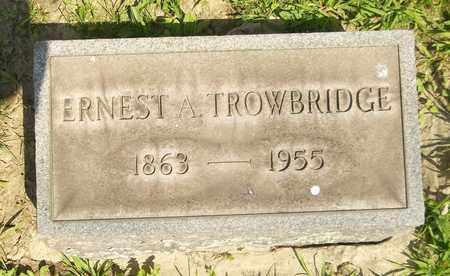 TROWBRIDGE, ERNEST A. - Trumbull County, Ohio | ERNEST A. TROWBRIDGE - Ohio Gravestone Photos
