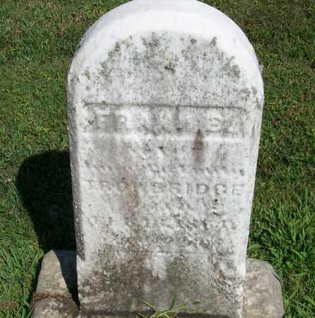 TROWBRIDGE, FRANK - Trumbull County, Ohio   FRANK TROWBRIDGE - Ohio Gravestone Photos