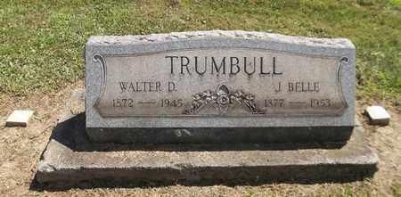 OSWALD TRUMBULL, JENNY BELLE - Trumbull County, Ohio   JENNY BELLE OSWALD TRUMBULL - Ohio Gravestone Photos