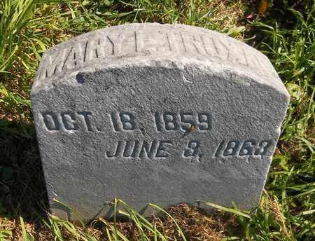 TRUXAL, MARY L. - Trumbull County, Ohio | MARY L. TRUXAL - Ohio Gravestone Photos