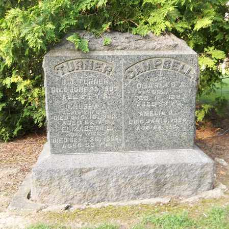TURNER, JERUSHA A. - Trumbull County, Ohio | JERUSHA A. TURNER - Ohio Gravestone Photos