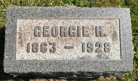 UNDERWOOD, GEORGIANNA H. - Trumbull County, Ohio | GEORGIANNA H. UNDERWOOD - Ohio Gravestone Photos