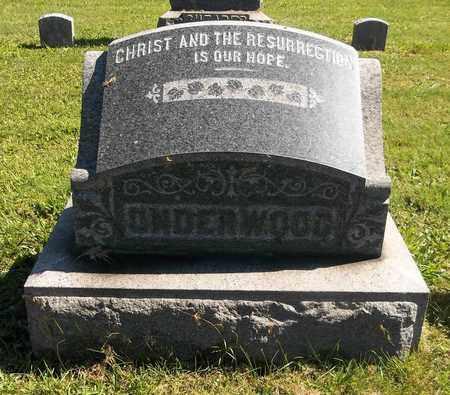 UNDERWOOD, RUFUS A. - Trumbull County, Ohio | RUFUS A. UNDERWOOD - Ohio Gravestone Photos