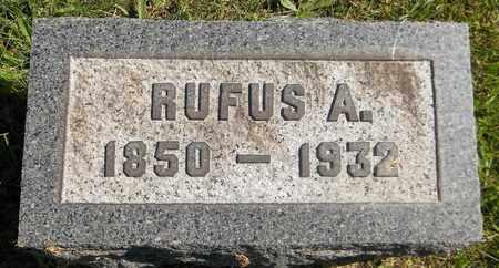 UNDERWOOD, RUFUS A. - Trumbull County, Ohio   RUFUS A. UNDERWOOD - Ohio Gravestone Photos