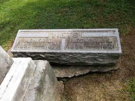 CLARK VIETS, LENORA E. - Trumbull County, Ohio | LENORA E. CLARK VIETS - Ohio Gravestone Photos
