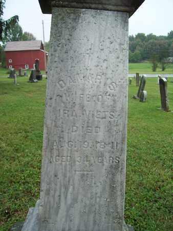 HURD VIETS, DAMARIS - Trumbull County, Ohio | DAMARIS HURD VIETS - Ohio Gravestone Photos