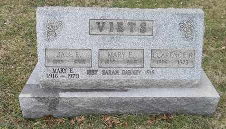 VIETS, MARY E. - Trumbull County, Ohio | MARY E. VIETS - Ohio Gravestone Photos