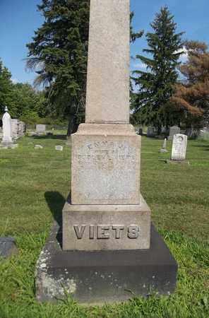 VIETS, EMMA J. - Trumbull County, Ohio   EMMA J. VIETS - Ohio Gravestone Photos