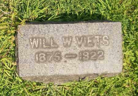 VIETS, WILL W. - Trumbull County, Ohio | WILL W. VIETS - Ohio Gravestone Photos