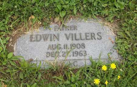 VILLERS, EDWIN - Trumbull County, Ohio | EDWIN VILLERS - Ohio Gravestone Photos