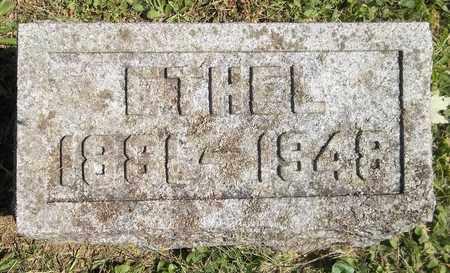 WANZER, ETHEL - Trumbull County, Ohio | ETHEL WANZER - Ohio Gravestone Photos