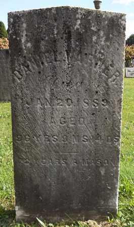 WARNER, DANIEL - Trumbull County, Ohio   DANIEL WARNER - Ohio Gravestone Photos