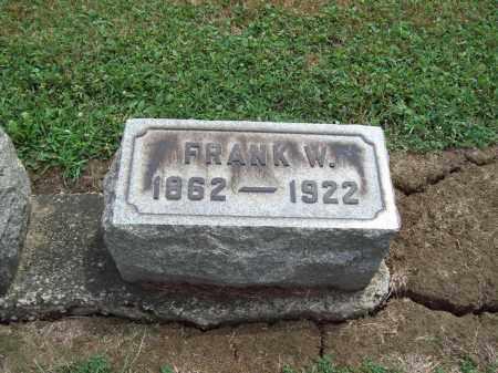 WARNER, FRANK WARHEM - Trumbull County, Ohio | FRANK WARHEM WARNER - Ohio Gravestone Photos