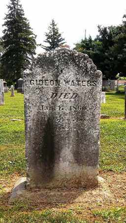WATERS, GIDEON - Trumbull County, Ohio | GIDEON WATERS - Ohio Gravestone Photos