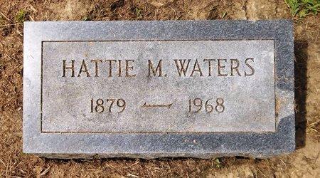 WATERS, HATTIE M. - Trumbull County, Ohio | HATTIE M. WATERS - Ohio Gravestone Photos