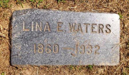 WATERS, LINA E. - Trumbull County, Ohio | LINA E. WATERS - Ohio Gravestone Photos