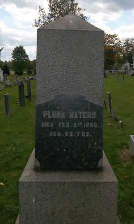 WATERS, PLUMA - Trumbull County, Ohio | PLUMA WATERS - Ohio Gravestone Photos