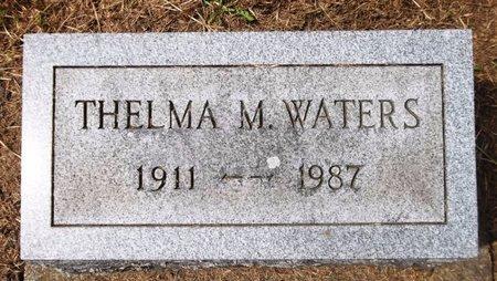 WATERS, THELMA M. - Trumbull County, Ohio   THELMA M. WATERS - Ohio Gravestone Photos