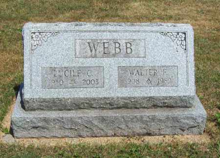 WEBB, LUCILLE - Trumbull County, Ohio | LUCILLE WEBB - Ohio Gravestone Photos