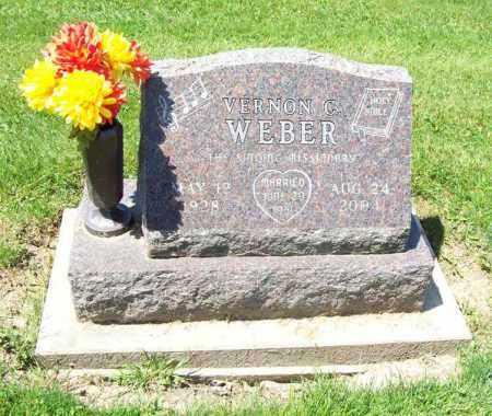 WEBER, VERNON CARROLL - Trumbull County, Ohio | VERNON CARROLL WEBER - Ohio Gravestone Photos