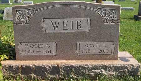 WEIR, HAROLD G. - Trumbull County, Ohio | HAROLD G. WEIR - Ohio Gravestone Photos