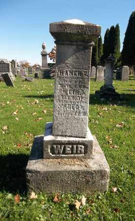 WEIR, HAMER V. - Trumbull County, Ohio | HAMER V. WEIR - Ohio Gravestone Photos