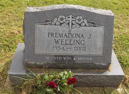 WELLING, PREMADONA J. - Trumbull County, Ohio | PREMADONA J. WELLING - Ohio Gravestone Photos