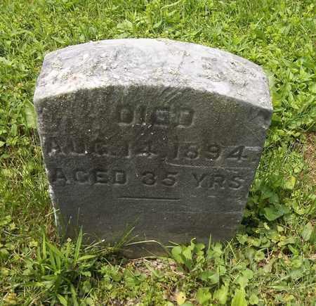WEST, J. W. - Trumbull County, Ohio | J. W. WEST - Ohio Gravestone Photos