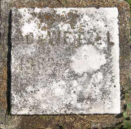 WETZEL, (UNKNOWN) - Trumbull County, Ohio | (UNKNOWN) WETZEL - Ohio Gravestone Photos